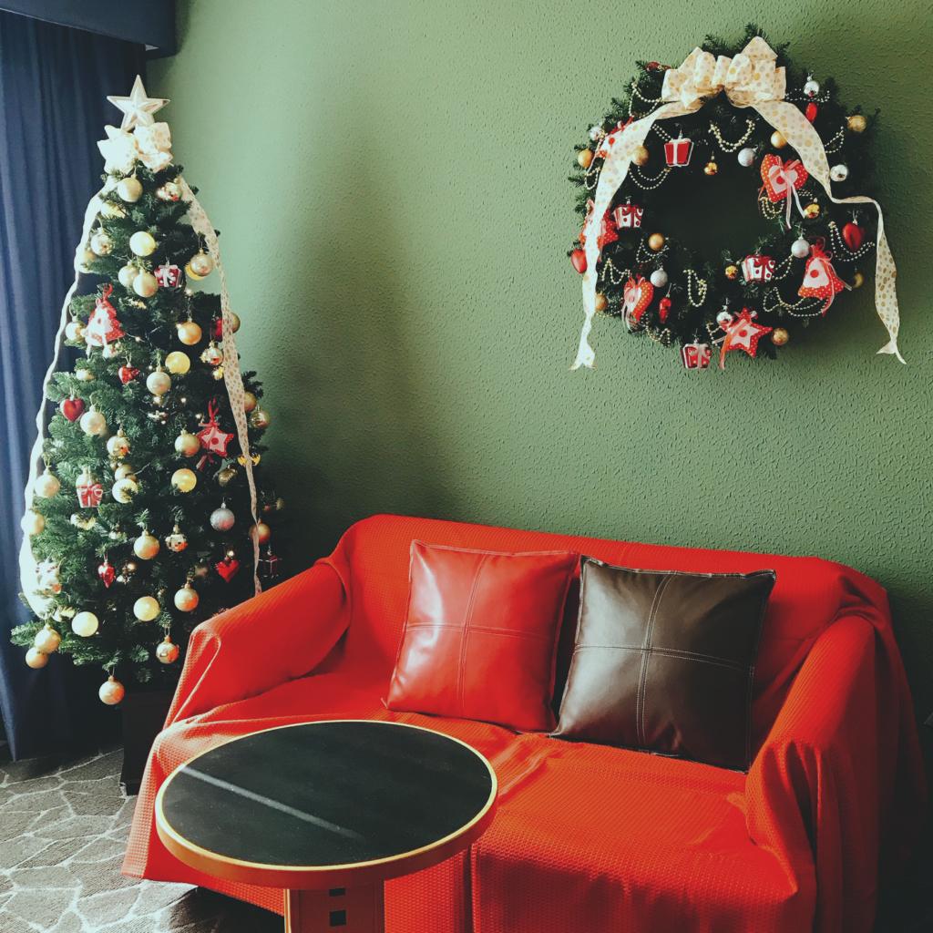 〈Go To トラベル対象〉【一般のお客様】《朝食付》クリスマスルーム