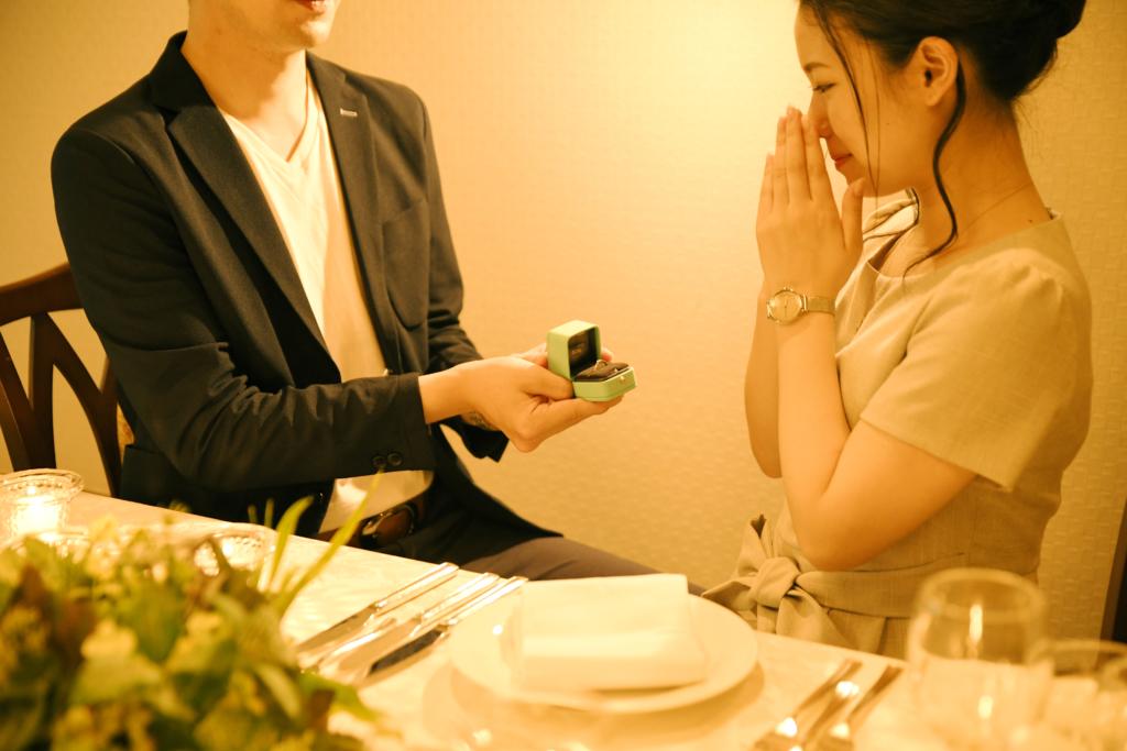 『プロポーズ大作戦』ディナー付きスイートルーム宿泊プラン