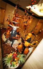 1階ロビー ハロウィン装飾①