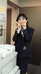 西川 知予子/ホテル名古屋ガーデンパレス フロント