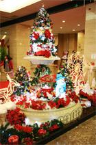 ロビー クリスマス装飾