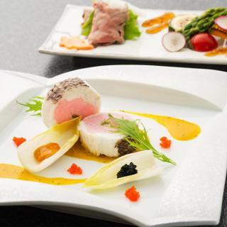 ◆月2限定◆2万円相当!牛フィレ&金目鯛付きコース試食